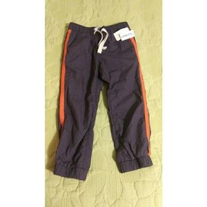 Toddler Boy's 3T Blue Gray Lined Pants